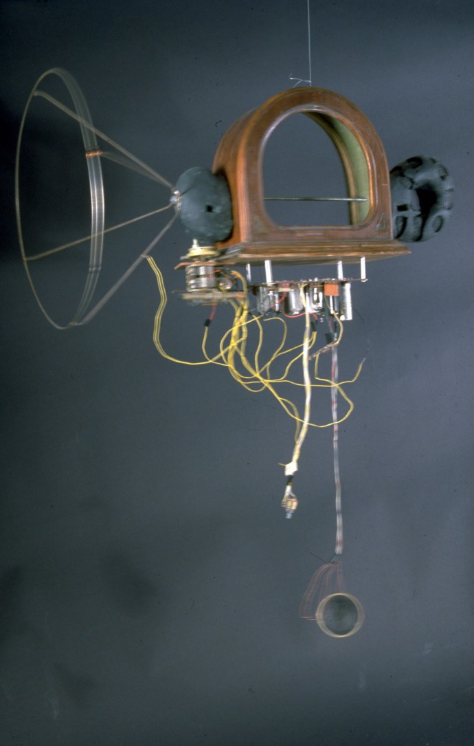 Toaster -squeak by Ken Rinaldo Image de Future curated by Ginette Major and Herve Fisher. Photo Ken Rinaldo