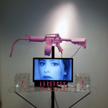 Woman's Tears Machine Gun