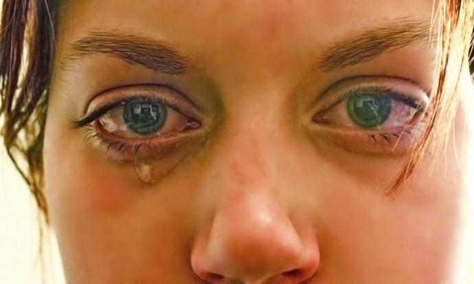 Tears of sadness